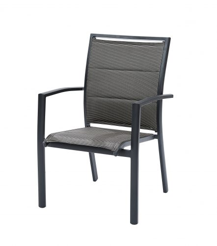 Fauteuil Modulo Gris Anthracite
