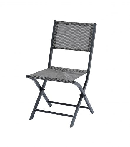 2 Chaises Modulo Gris Anthracite