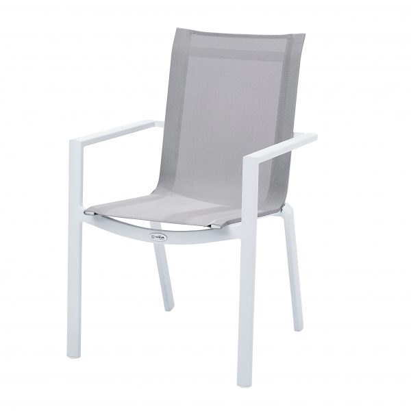 Fauteuil White Star Blanc