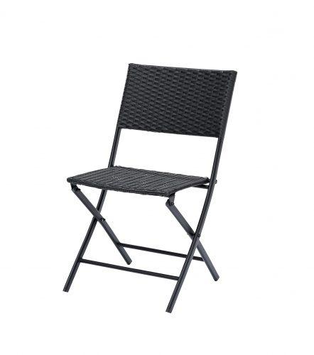 2 Chaises Kiosque Noir