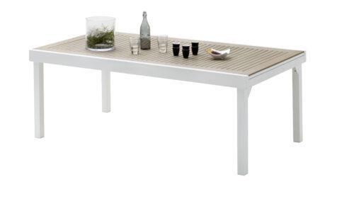 Table Modulo Polywood Blanc