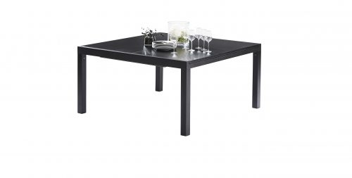 Table Black Star Full Verre Noir