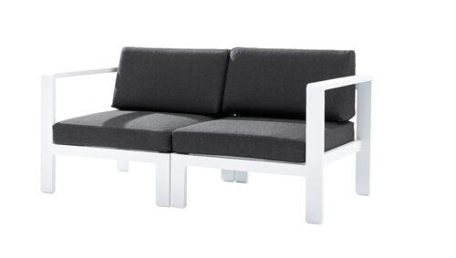 Sofa G/D Orlando Blanc